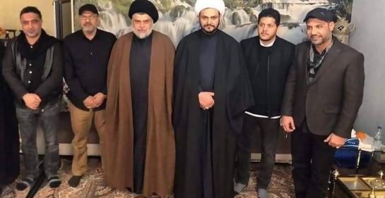 Muqtada a-Sadr y las milicias chiitas pro Irán, en Qom
