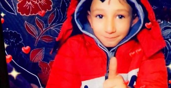 Kais Abu Ramile, de 7 años.