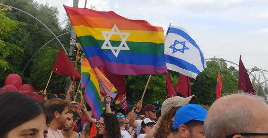 Marcha de orgullo gay en Jerusalem- junio 2019