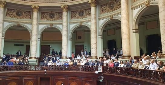 Comisión Permanente del Parlamento, en sesión especial