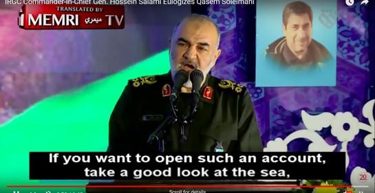 El jefe de las Guardias Revolucionarias de Irán General Salami