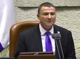 Dimitió el Presidente de la Kneset, por primera vez en la historia del país