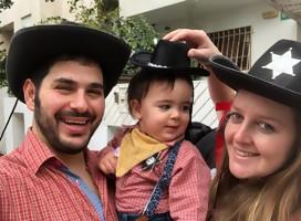 Los colores de Purim en Israel