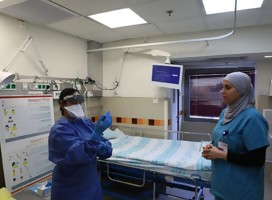 Hospitales israelíes abren departamentos especiales para tratar Corona