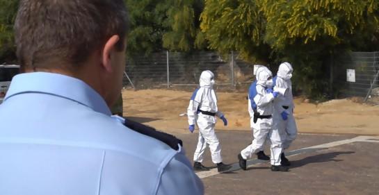 Fuerza especial de la Policía israelí se suma al esfuerzo contra el Corona