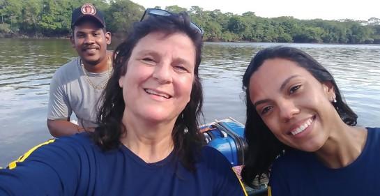Iliana Modyeievsky, de Montevideo a la Amazonia, con la profesión y el corazón