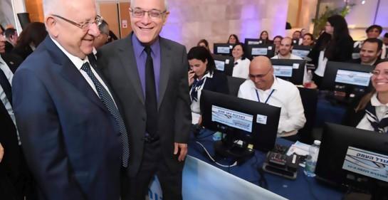 La preocupación del Presidente de Israel al ir a votar
