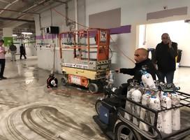 Centro Médico Sheba-Tel Hashomer: estacionamiento subterráneo convertido en unidad de cuidados intensivos para enfermos de Corona