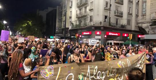 #8M Marcha por el Día Internacional de la Mujer