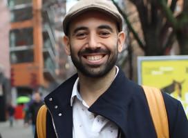 Alex Piperno en el Festival de Berlin