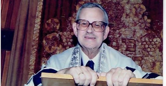 A 20 años del fallecimiento del Gran Rabino Frintz Winter de la NCI