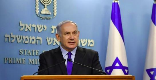 Netanyahu, en su comunicado a la ciudadanía (Kobi Gideon, GPO)