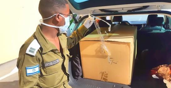 Israel introduce  a Gaza aparato que permite duplicar cantidad de tests de Corona