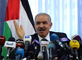 El PM palestino Dr. Mohammad Shtayyeh (Foto: Twitter)