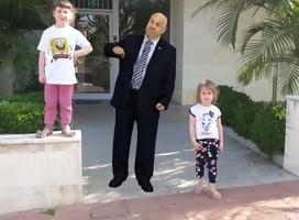 ¿Quieres tomarte una foto con el Presidente de Israel para Iom Haatzmaut?