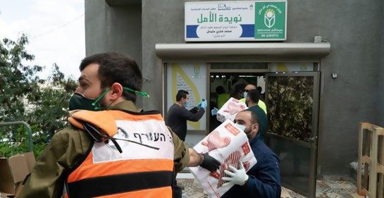 Tzahal ayuda a la ciudadanía árabe israelí en la crisis del Coronavirus