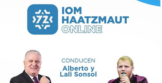 Iom Haatzmaut 72 con celebración online