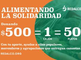 Redalco lanza campaña para donar 15.000 kg de frutas y verduras semanales