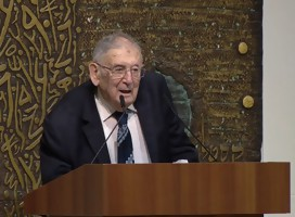 La Shoa no fue el motivo de la creación de Israel, recalca el Profesor Yehuda Bauer, gran investigador del Holocausto