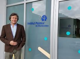 Con el Dr. Carlos Batthyany, Director del Institut Pasteur de Montevideo