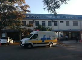 #NosCuidamosEntreTodos llega a Rivera y entrega allí primera ambulancia