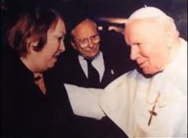 En el centenario del natalicio del Papa Juan Pablo II, recordamos  cómo salvó a una niña judía en la Shoa