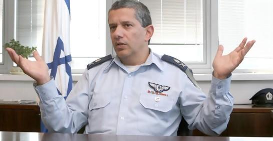 General Amir Eshel (hoy retirado) Foto: Ariel Jerozolimski