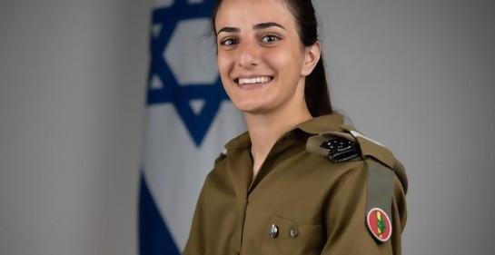 Hadil Moreb, israelí, cristiana, oficial destacada en las Fuerzas de Defensa de Israel