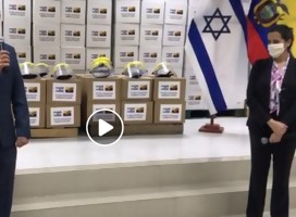 Israel ayuda a Ecuador a enfrentar el corona