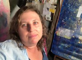 Encuentro con la artista plástica Alejandra Okret