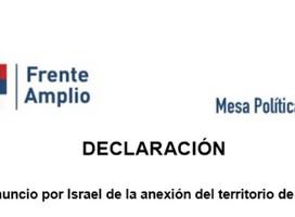 Una opinión sobre el nuevo comunicado del Frente Amplio sobre Israel