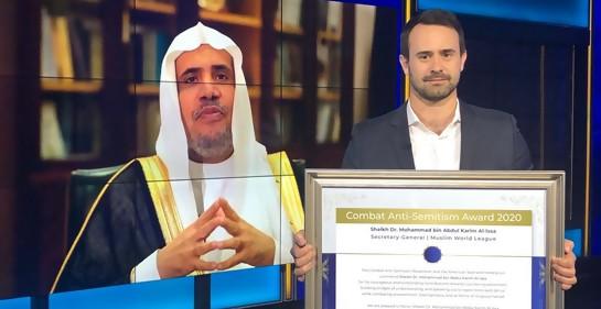 Autoridad islámica mundial honrada por combatir el antisemitismo
