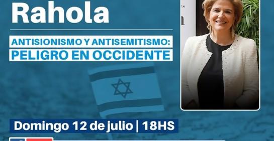 Antisionismo y antisemitismo: peligro en Occidente por Pilar Rahola