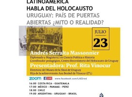 Difundiendo la tarea del Museo de la Shoá de Uruguay en la RED LAES