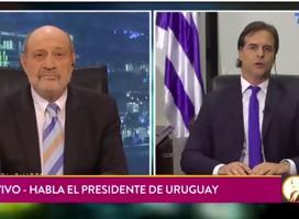 Para quienes no alcanzaron: la gran entrevista de Alfredo Leuco al Presidente Lacalle Pou