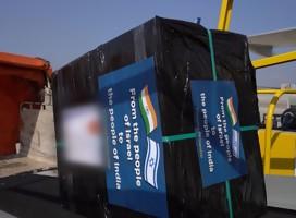 Dos aviones israelíes partieron a India, con un plan prometedor en la lucha contra el Covid-19