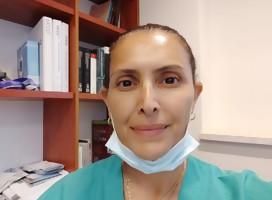 Presten atención a esta médica israelí que atiende a los pacientes más graves de Covid-19