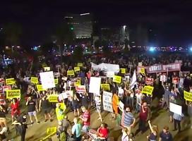 Este sábado tiene lugar en Jerusalem la manifestación más grande hasta ahora contra Netanyahu