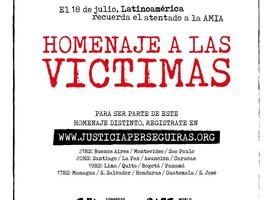 Latinoamérica recuerda a las víctimas de la AMIA