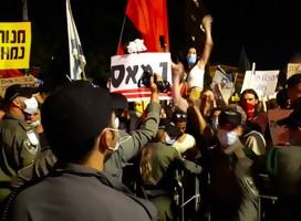 Tras el reciente ataque violento a manifestantes contra Netanyahu en Tel Aviv, tensión en Jerusalem de cara a la nueva protesta