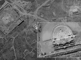 Primeras imágenes que el satélite israelí Ofek 16 tomó sobre Siria