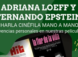 Actividad de cine en la NCI con Adriana Loeff y Fernado Epstein