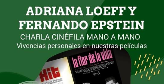 Actividad de cine en la NCI con Adriana Loeff y Fernado Epstein