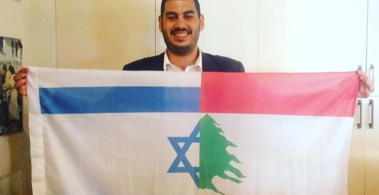 Israelí nacido en Líbano, angustiado por su familia que aún vive en Beirut