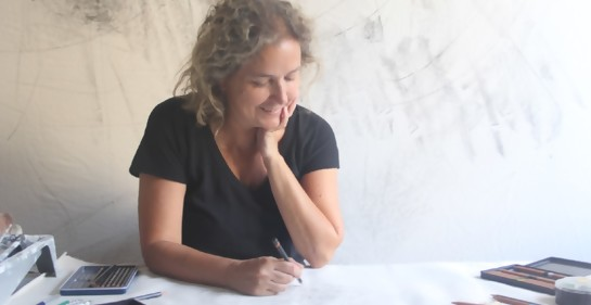 Exposición de Andrea Finkelstein en el Museo de Artes Visuales