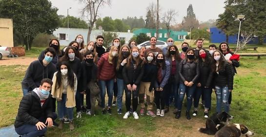 B'nai B'rith Uruguay realiza actividades con Aldeas Infantiles