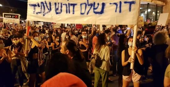 Los jóvenes, claves en las manifestaciones contra Netanyahu