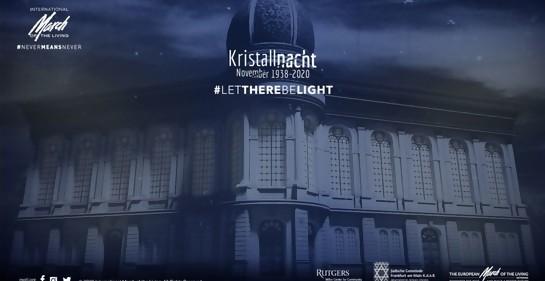 Singular iniciativa interreligiosa global para conmemorar la Noche de los Cristales Rotos, antesala de la Shoá