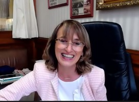 La Senadora Carmen Asiaín (PN) expone  sobre diplomáticos uruguayos que salvaron judíos en la Shoá