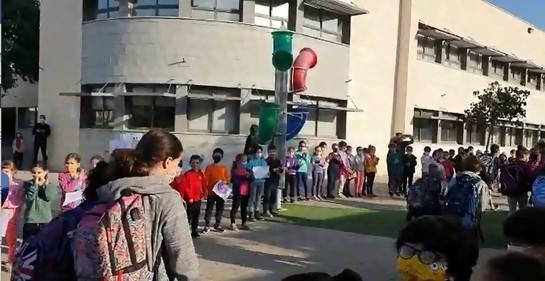 No te pierdas este momento emotivo del regreso a clases en Israel